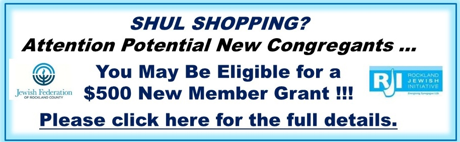 Shul Shopping - for NHC Website Main Page - 2015